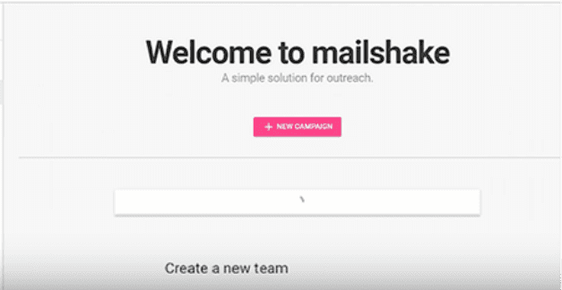 Welcome to Mailshake