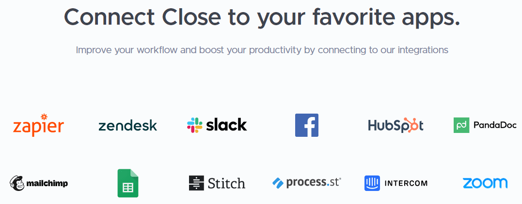 Connect close to your favorite apps.