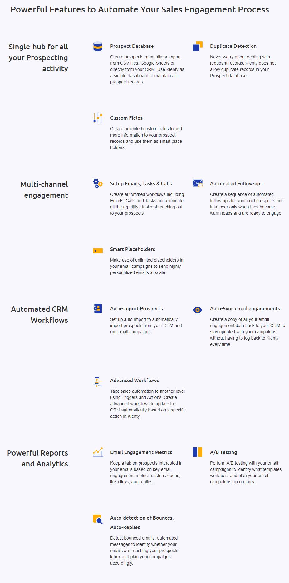 Sales Engagement Platform