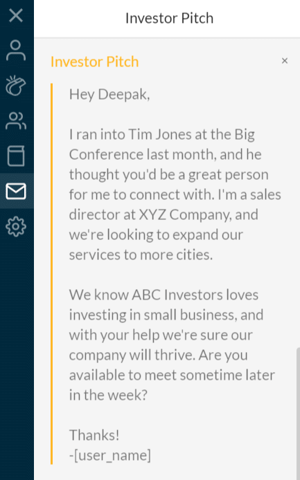 Crystal Investor pitch