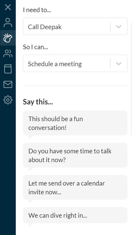 Schedule meeting on Crystal