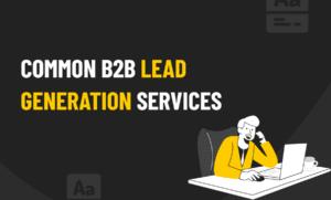 B2B lead generation services