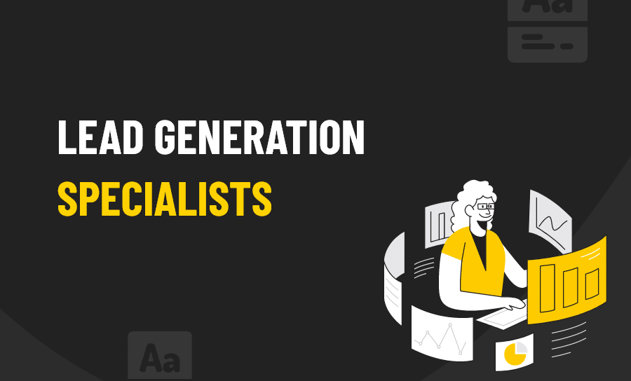 Lead generation specialists