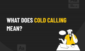cold calling mean