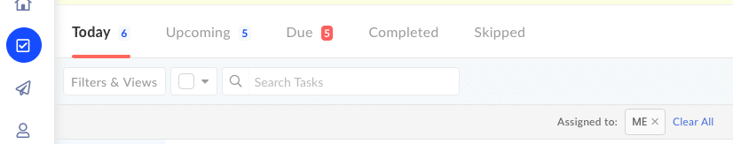 Tasks Dashboard