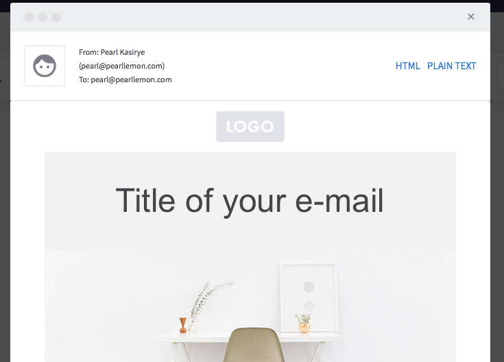 Email Title