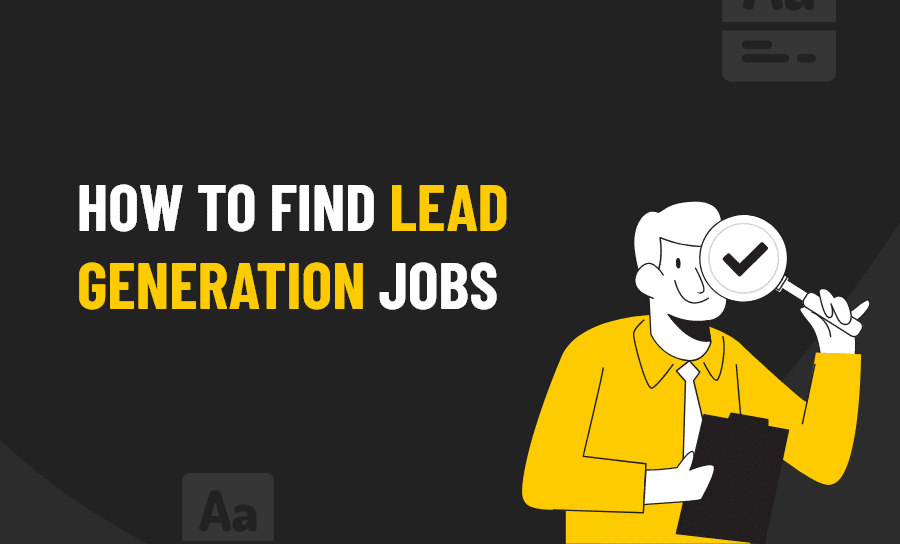 find lead generation jobs