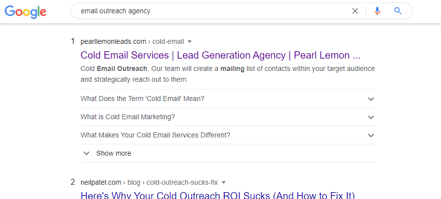 email outreach agency