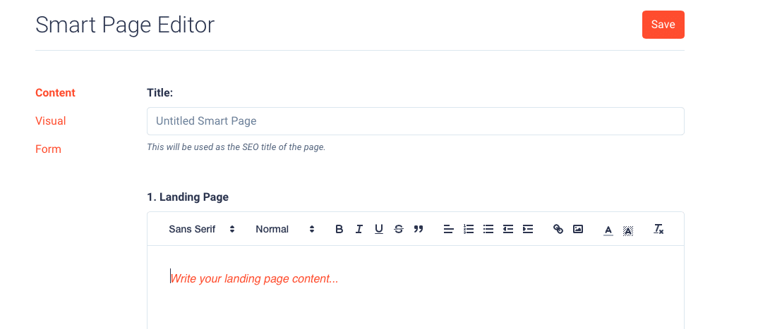 Smart Pages Editor