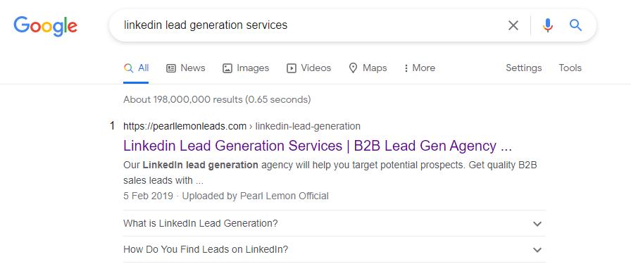 linkedin lead gen services