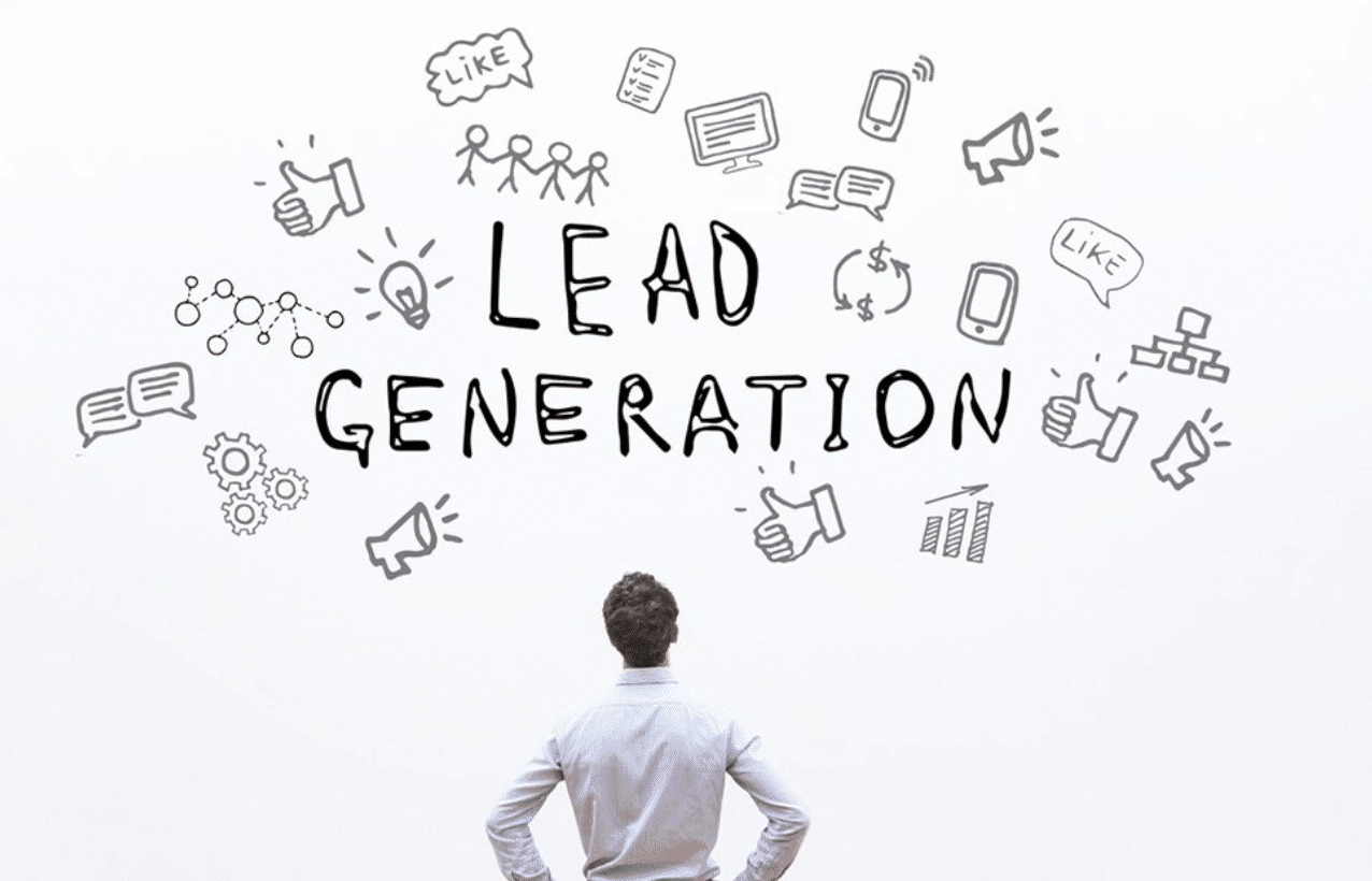 How does business generate leads